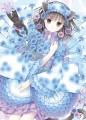 青い矢車菊/和花