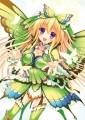 蝶の羽のドレス♪