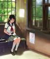 夏の駅舎/sassu笹森mori