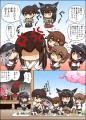 艦これ漫画「榛名と霧島」その後「長門さん加賀さんの罰」