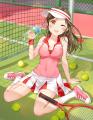 テニス少女