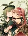 仲良し植物娘達