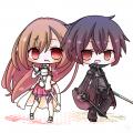 SAO/アスナ、キリト /くーりあ