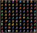 オリジナルクロス一覧(公式クロス追加版)/骨狩人