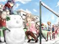 雪の日の休日【ラブライブ】
